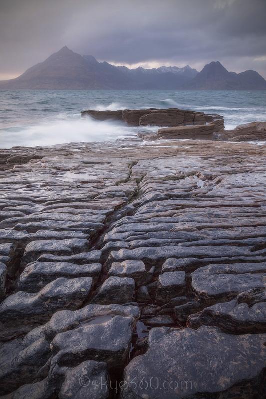Elgol Cracked Rock