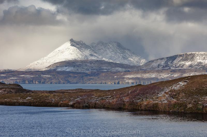 Cuillin over Loch Gavsghavaig