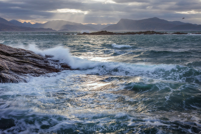 Waves at the Sound of Sleat