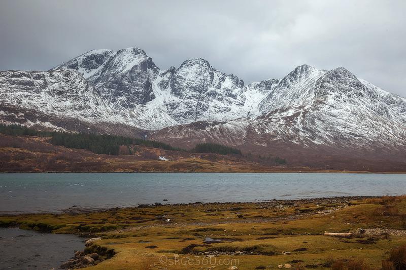 Blaven Across Loch Slapin