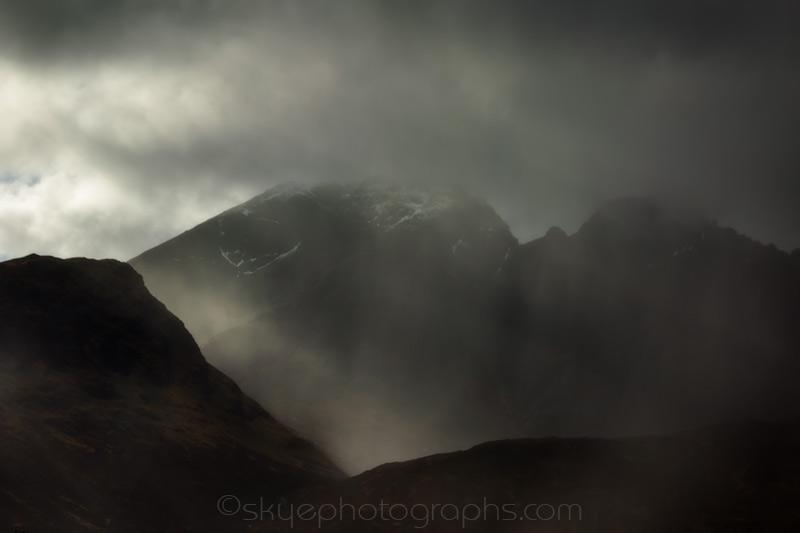 Blaven in the Mist
