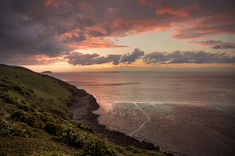 Brean Down North Sunset