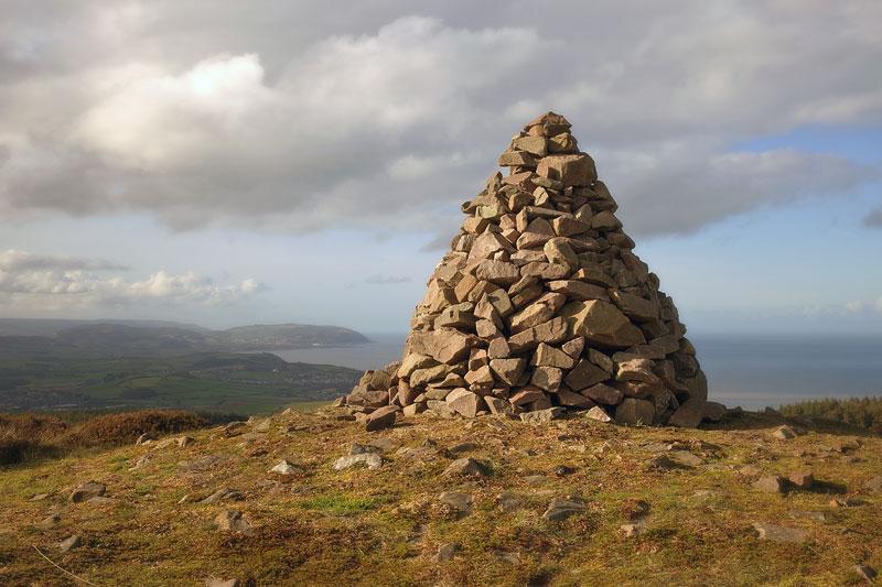 Cairn on Beacon Hill