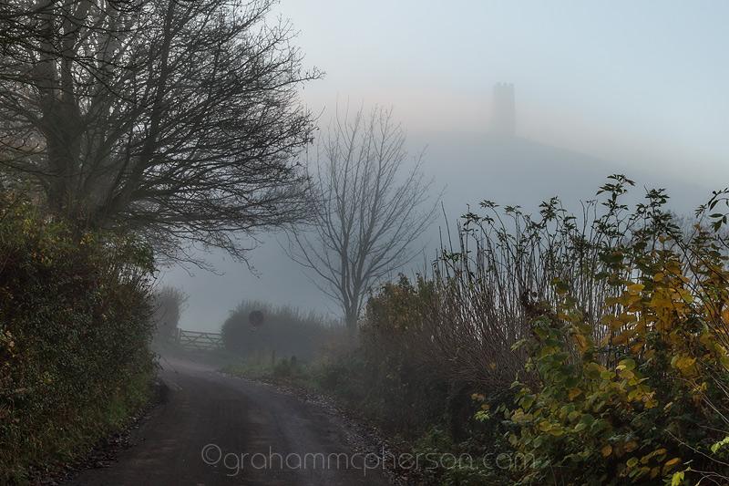 Glastonbury Misty December