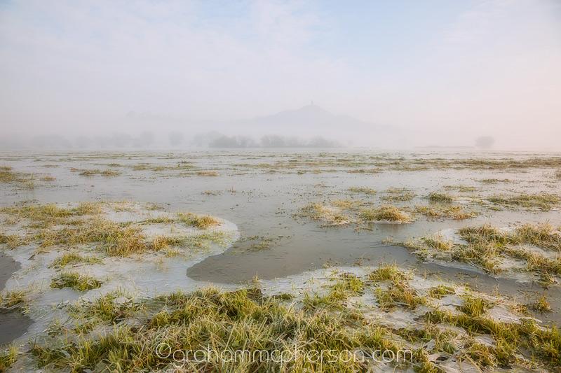 Glastonbury Icy Morning