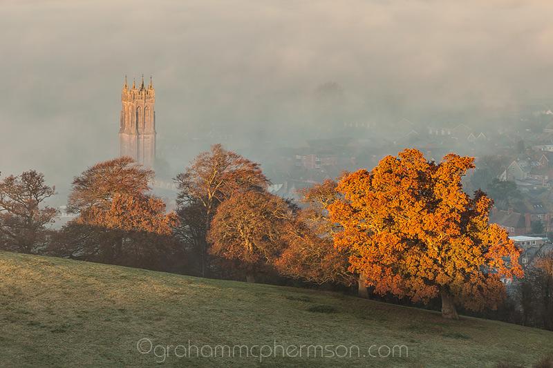 Glastonbury Dawn Glow