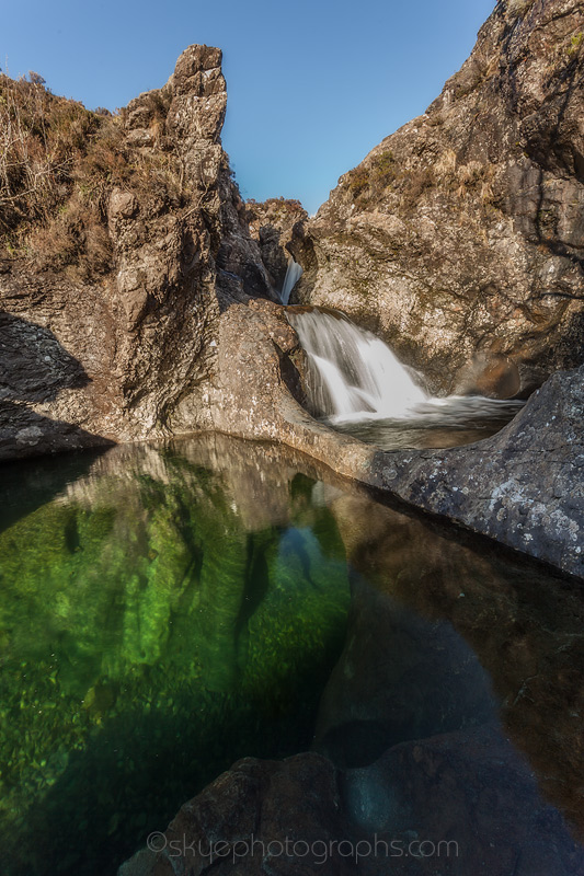Fairy Pools Clear Deep Pool