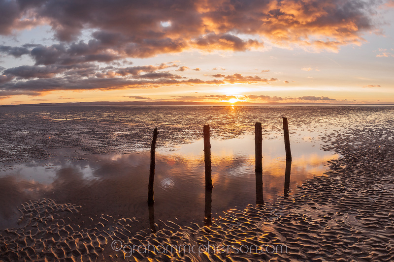 Berrow and Brean Sands Four Reflected Groynes