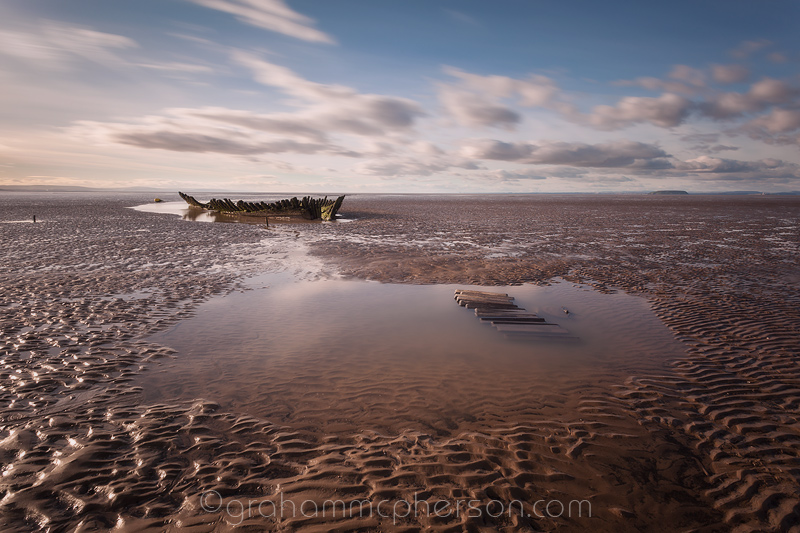 SS Nornen Wreck Stranded