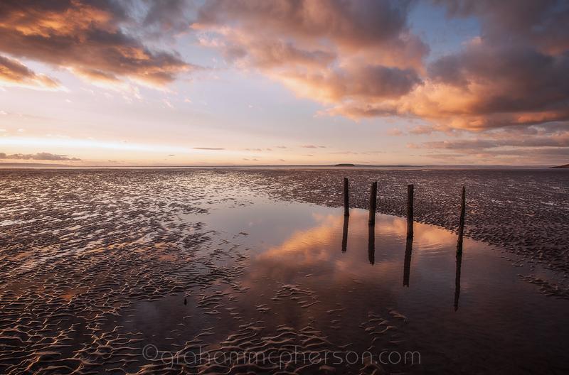 Berrow and Brean Sands Four Groynes