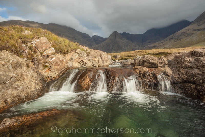 Fairy Pools Four Waterfalls