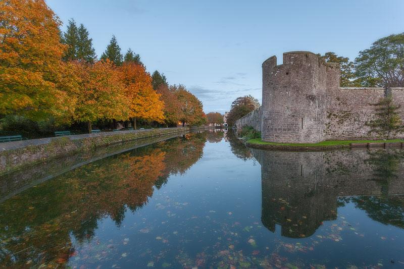 Wells Autumn Moat