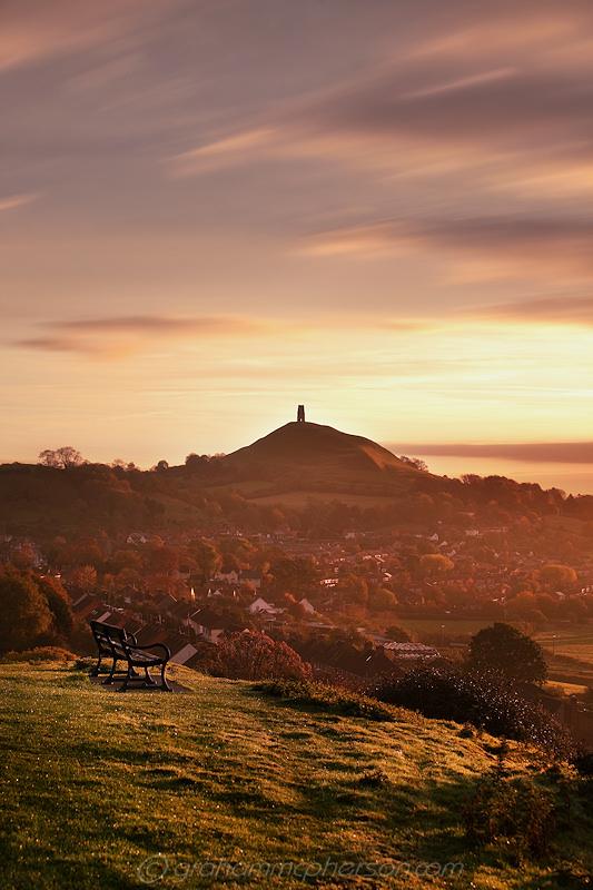 Glastonbury Wearyall Hill View