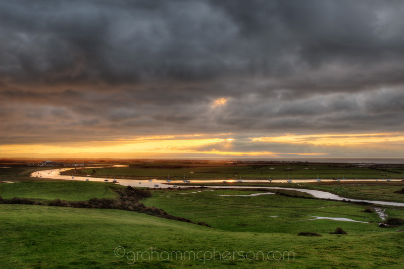 Somerset Levels River Axe