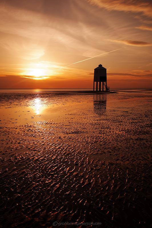Burnham on Sea Lighthouse Bronze