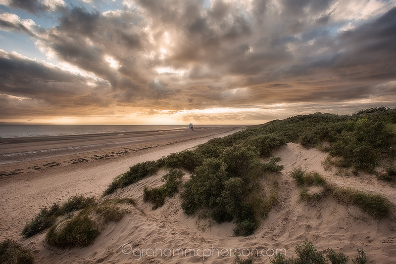 Burnham on Sea Lighthouse Dune View
