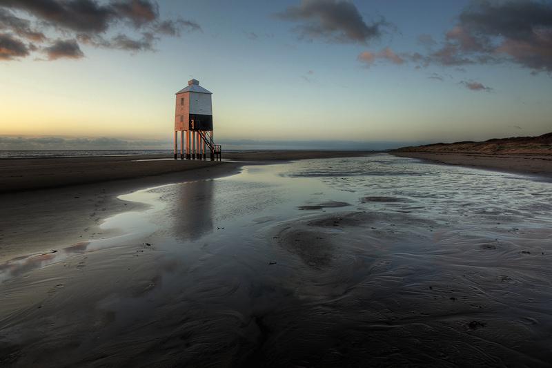 Burnham on Sea Lighthouse Land Swirl