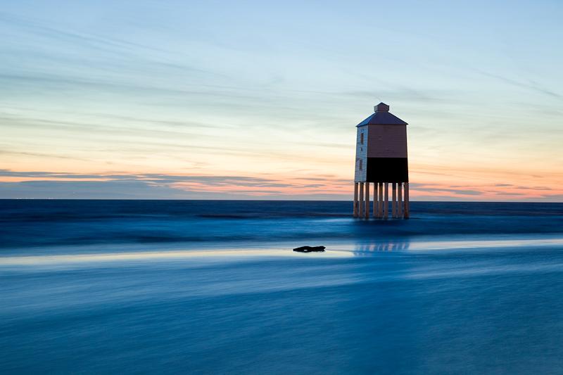 Burnham on Sea Lighthouse Silklike Sea