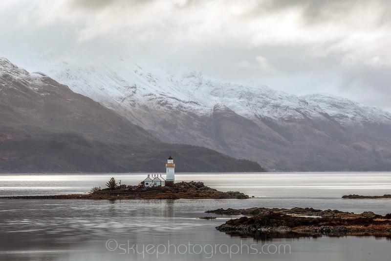 Isle Ornsay Winter Lighthouse