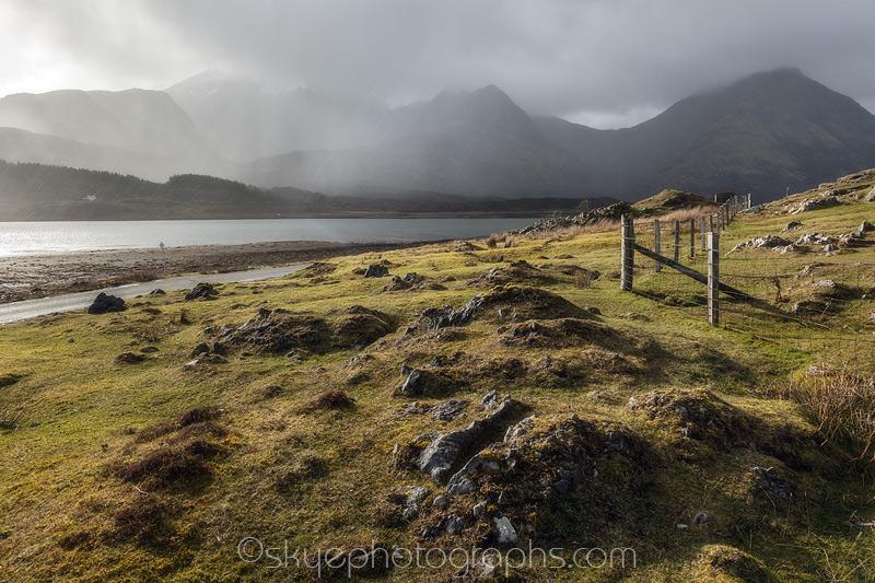 Sunshine and Rain in Loch Slapin