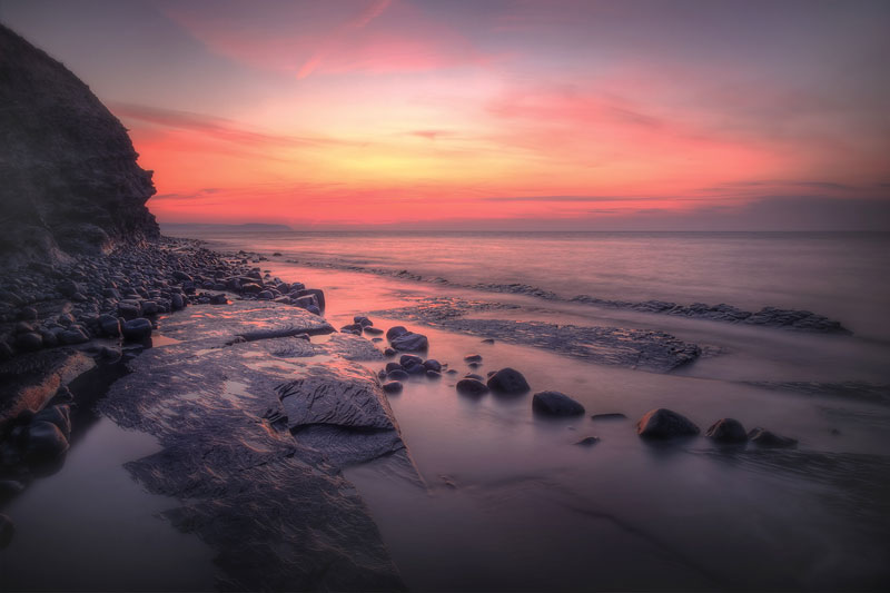 Kilve Magenta Sunset