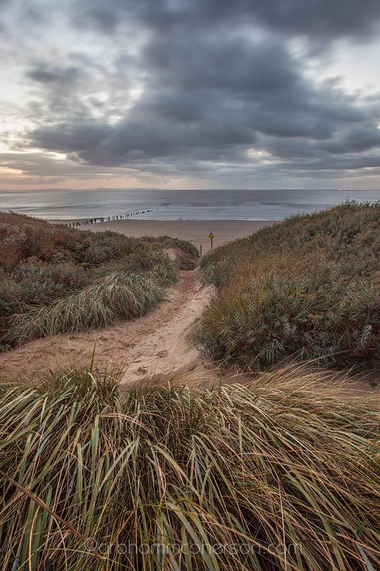 Berrow Beach Path