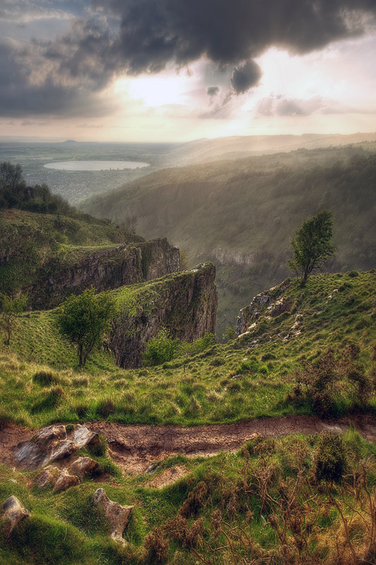 Cheddar Gorge Top of the Pinnacles