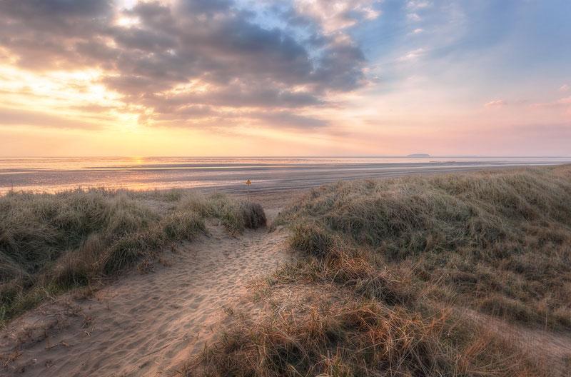 Berrow and Brean Beach Path