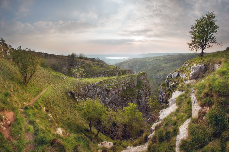 Cheddar Gorge Path to the Pinnacles