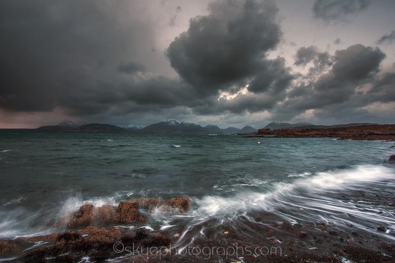 Tokavaig Teal Sea