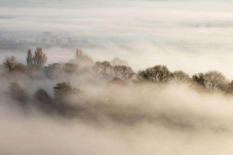 Glastonbury Tor Dawn View