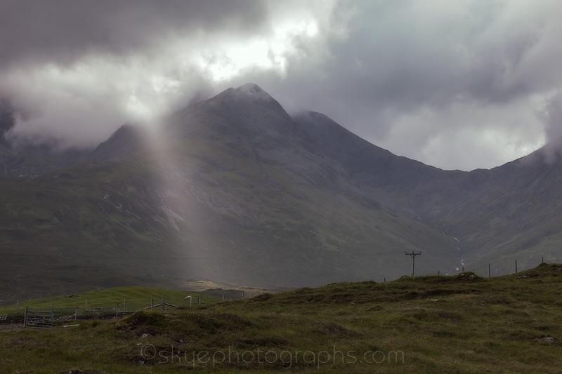 Shaft of Light near Blaven