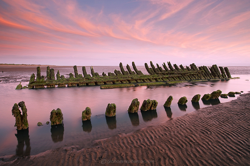 Nornen Wreck Lines and Ribs