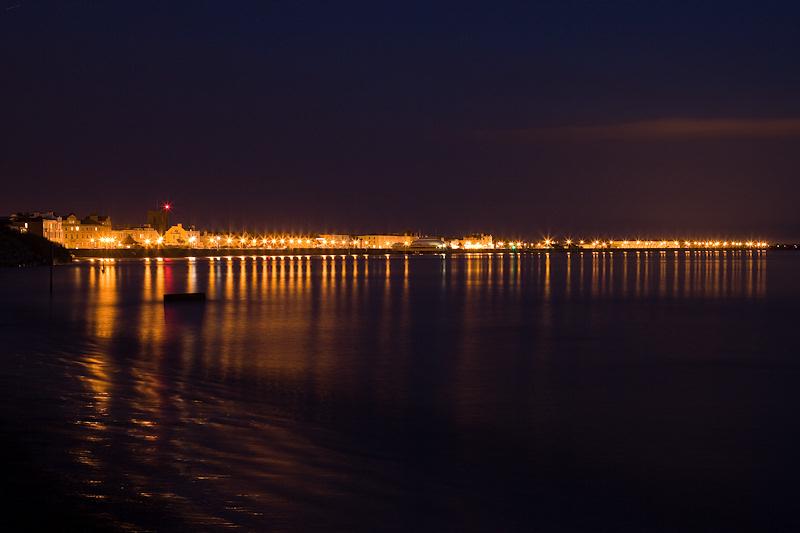 Burnham on Sea Night Lights