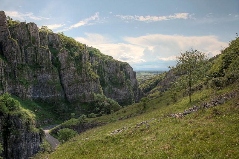 Cheddar Gorge Cliffs