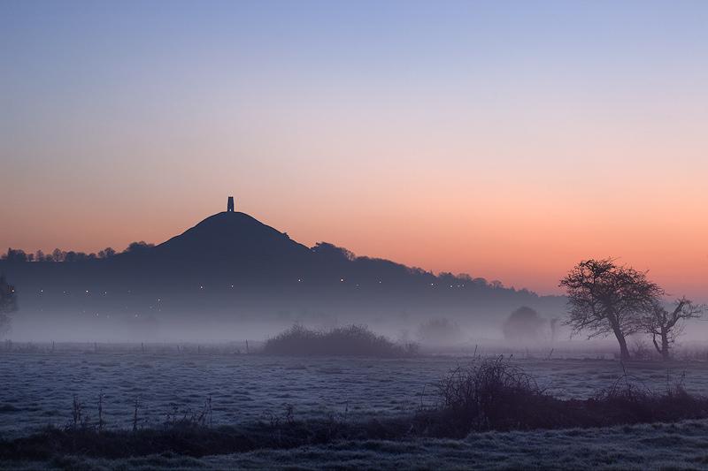Glastonbury Pre Dawn