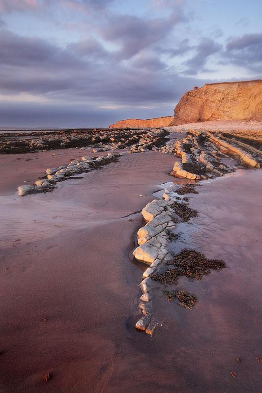 Kilve Rocks and Sand