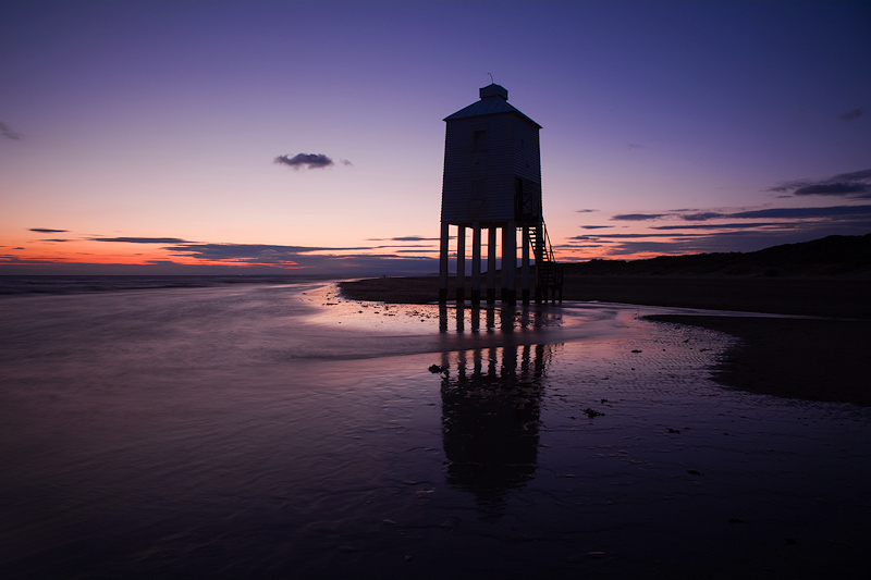 Burnham on Sea Lighthouse July Dusk