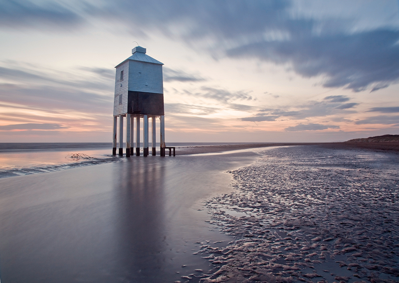 Lighthouse with Dreamy Skies