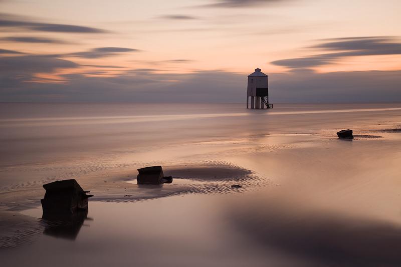 Burnham on Sea Lighthouse Molten Sea