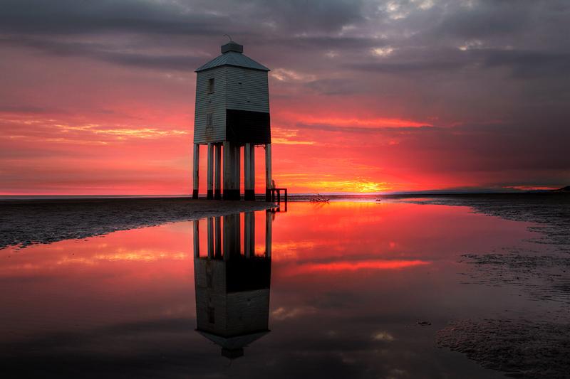 Burnham on Sea Lighthouse Shepherds Delight