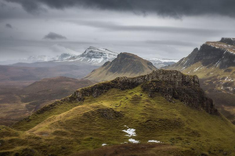 North Skye Quirang looking South