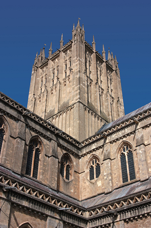 Wells Cathedral Tower