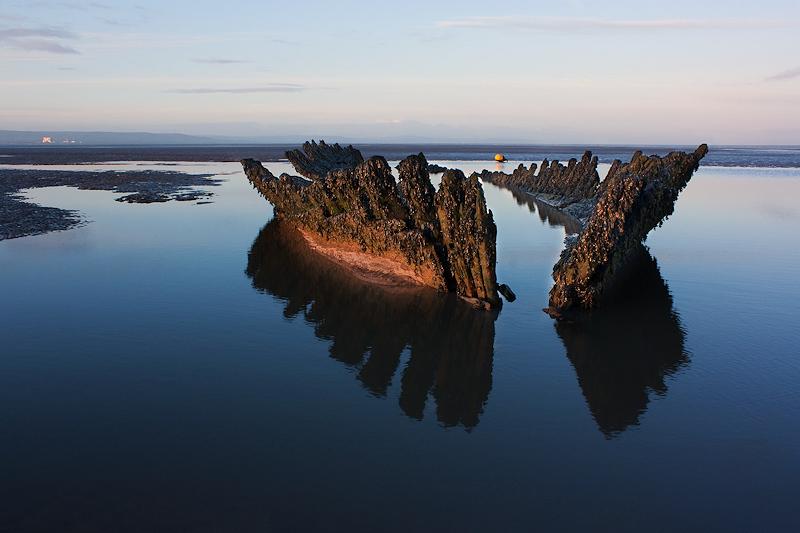 Nornen Wreck Reflection