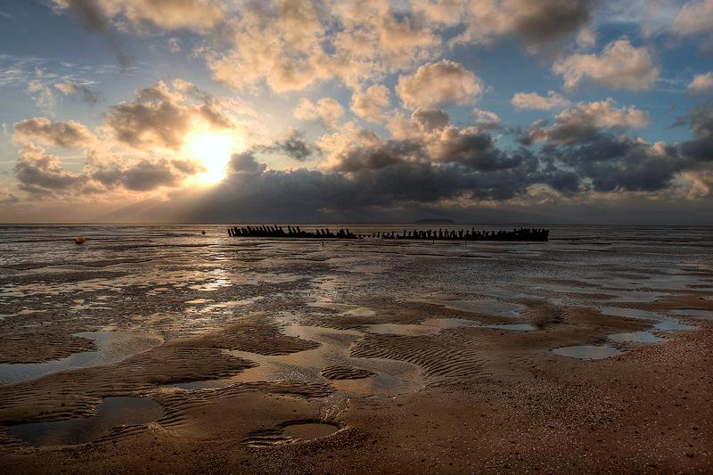 Nornen Wreck Sundown
