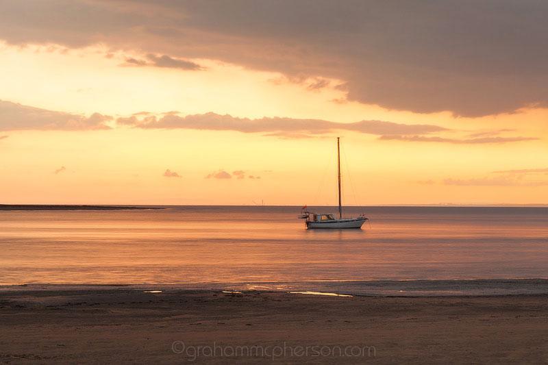 Burnham on Sea Amber Sunset Yacht
