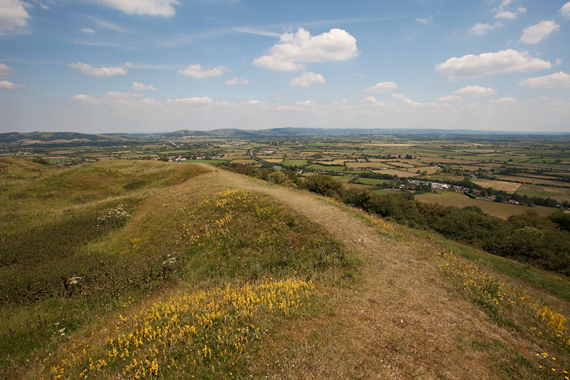 Brent Knoll View North