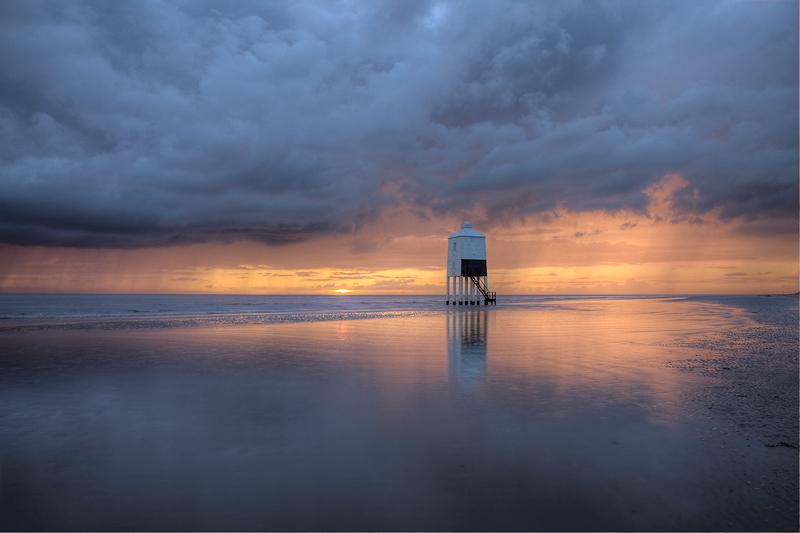 Burnham Lighthouse in September