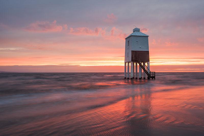Burnham Lighthouse Liquid Tide