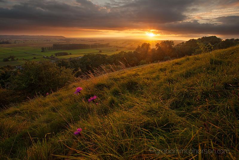 Walton Hill View at Sunset